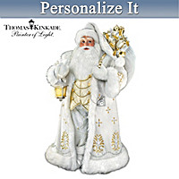 Thomas Kinkade Winter Elegance Personalized Sculpture