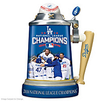 Los Angeles Dodgers 2016 National League Champions Stein