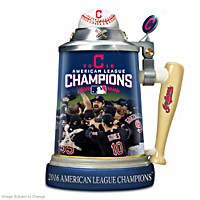 Cleveland Indians 2016 American League Champions Stein
