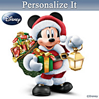 Disney Delivering A Magical Christmas Personalized Sculpture