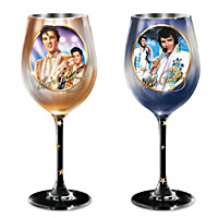 Star Of The Stage Wine Glass Set