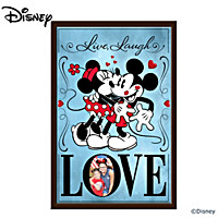 Disney Live, Laugh, Love Wall Decor