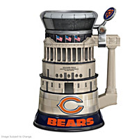 Chicago Bears Soldier Field Stein