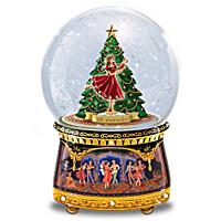 Nutcracker Glitter Globe