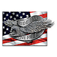 Riding Proud In America Wall Decor