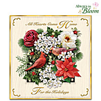 All Hearts Come Home For The Holidays Wall Decor