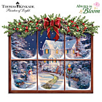 Thomas Kinkade A Captivating Christmas Wall Decor