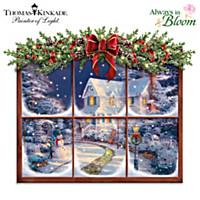 Thomas Kinkade A Captivating Christmas Wall Decor