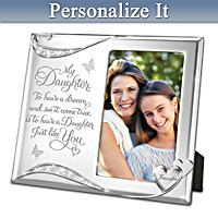 My Daughter, You're A Dream Come True Personalized Frame