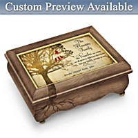 A Family Tree Grows With Love Personalized Music Box