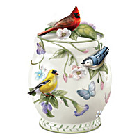 Songbird Delights Cookie Jar