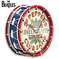 The Sgt. Pepper's Drum Wall Clock