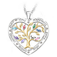 Tree Of Wishes Pendant Necklace