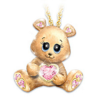 So Beary Sweet Pendant Necklace
