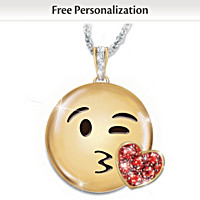 A Message Of Love Personalized Pendant Necklace