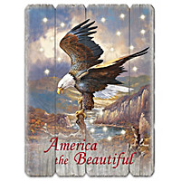 America The Beautiful Wall Decor