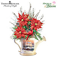 Thomas Kinkade Heart Of Christmas Table Centerpiece