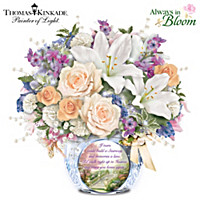 Thomas Kinkade Memories Of Love Table Centerpiece