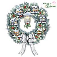 Lighting The Way Home Wreath