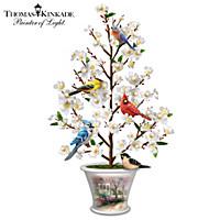 Thomas Kinkade Blossoming Treasure Tabletop Tree
