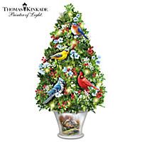 Thomas Kinkade Garden Treasures Tabletop Tree
