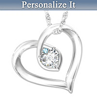 My Joy Personalized Pendant Necklace