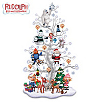 Rudolph's Happy Holly Jolly Tabletop Tree