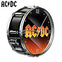 AC/DC Drum Wall Clock