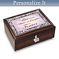 My Daughter, I Love You Forever Personalized Music Box