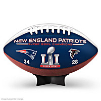 Super Bowl LI Champions Patriots Football