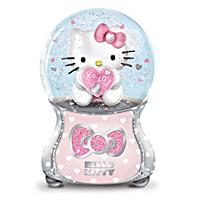 Hello Kitty Glitter Globe