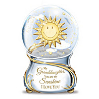 My Granddaughter, You Are My Sunshine Glitter Globe