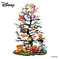 Disney Trick Or Treat Halloween Tabletop Tree