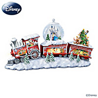 Disney Snow Flurry Express Snowglobe