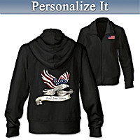 So Proud Personalized Women's Hoodie