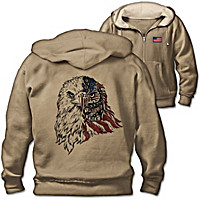 Proud And Free Men's Hoodie