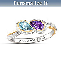 True Love Personalized Ring