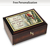 Love Is A Miracle Personalized Music Box