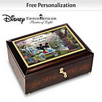 Disney The Magic Of Love Personalized Music Box