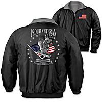 Proud Veteran Men's Jacket