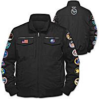 NASA Space Mission Men's Jacket
