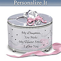 My Heart Smile Personalized Music Box