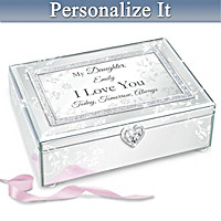 Reflections Of Love Personalized Music Box