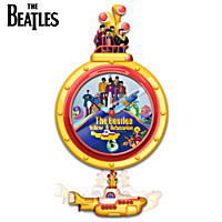 The Beatles Yellow Submarine Motion Wall Clock