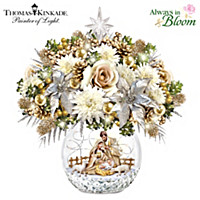 Silent Night, Shines So Bright Table Centerpiece