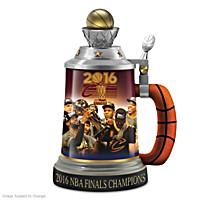 Cleveland Cavaliers 2016 NBA Finals Champions Stein