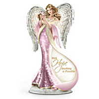 Loving Embrace Mosaic Angel Sculpture