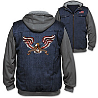 Spirit Of America Men's Hoodie