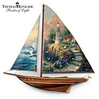 Thomas Kinkade's Serene Voyage Wall Clock