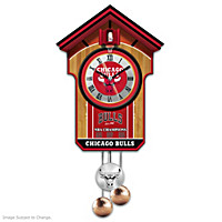 Chicago Bulls Cuckoo Clock